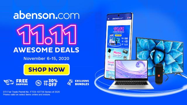 Abenson.com 11.11 Promo