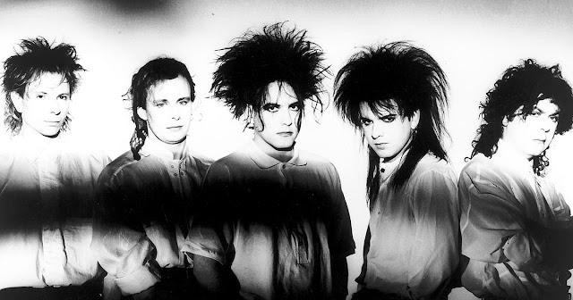 The Cure circa 1987