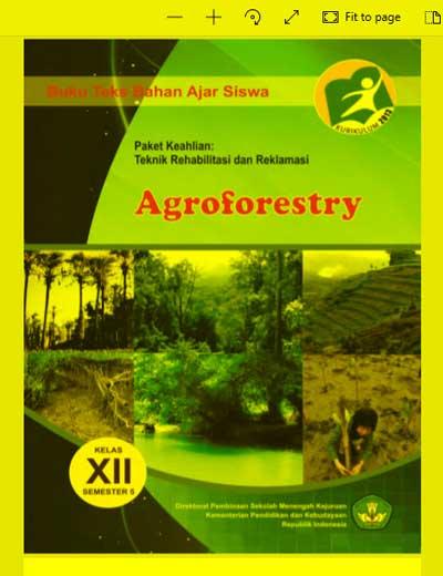 Buku Siswa Agroforestry SMK Kelas (12) XII - Semester 5 - Kurikulum 2013