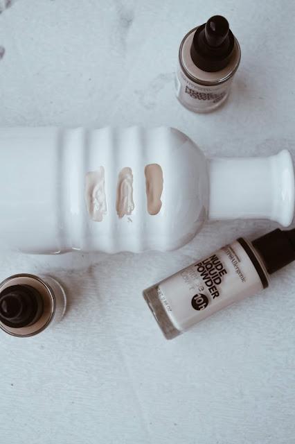 Bell Hypoalergenic Nude Liquid Powder swatche