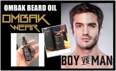 Ombak Beard Oil (Penumbuh Rambut, Kumis, Jenggot) Original 100%Ampuh