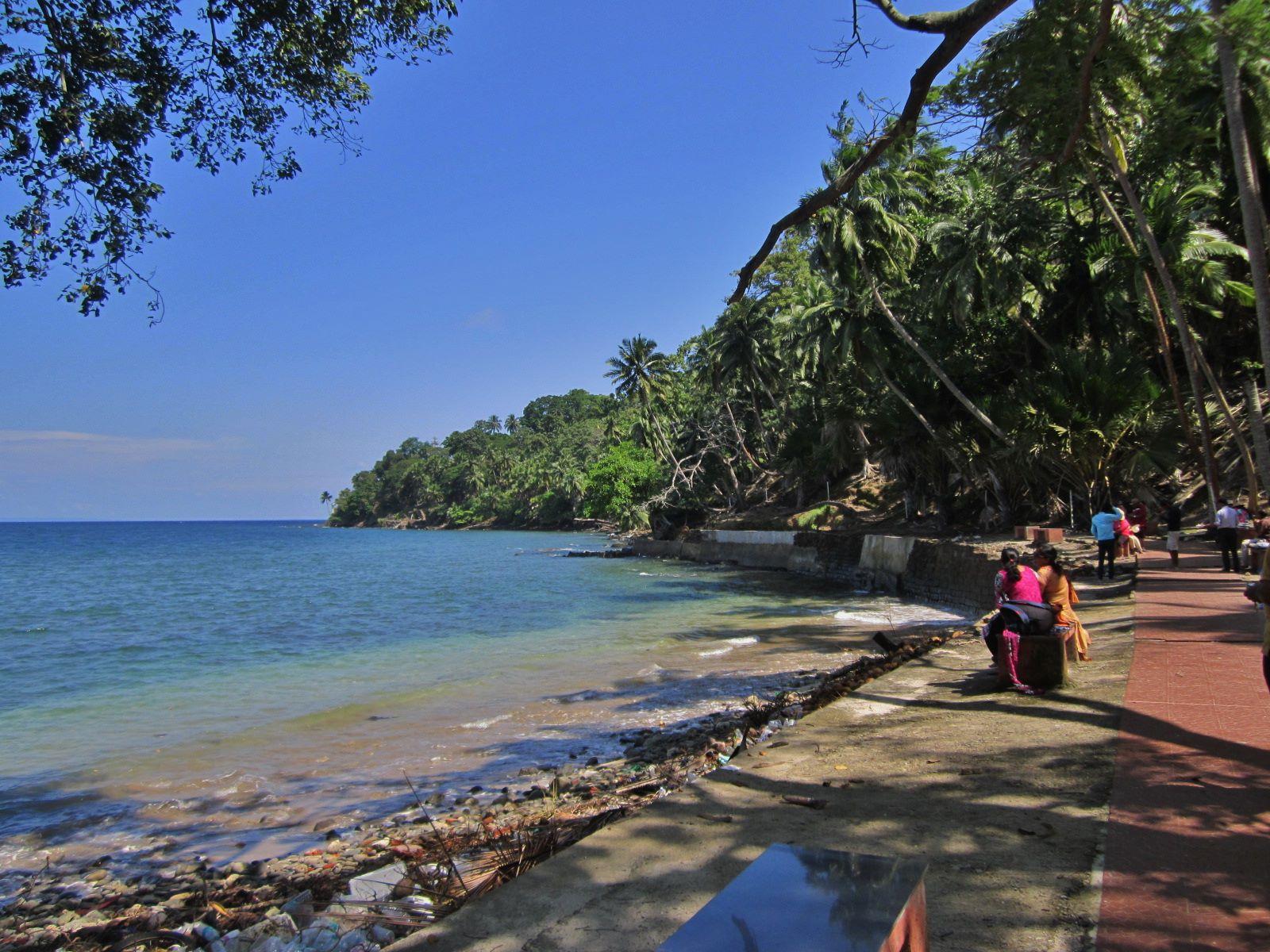 Ross Island - Andaman and Nicobar Tourism
