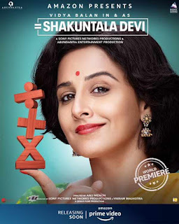 Shakuntala Devi First Look Poster 2