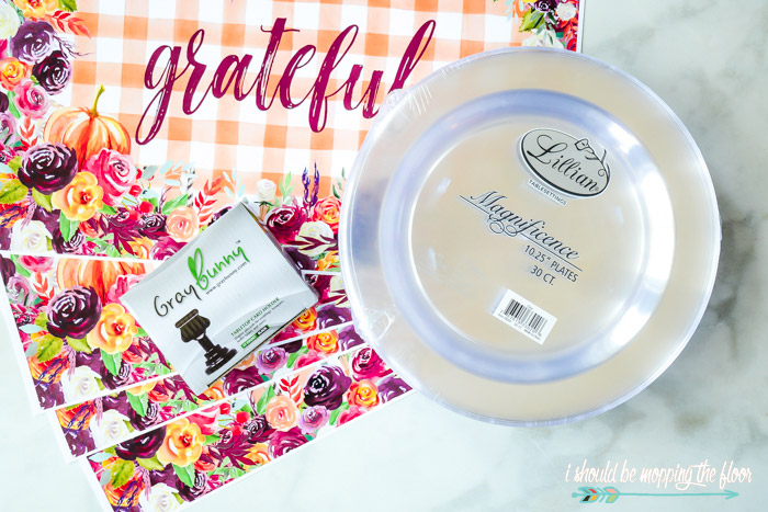 Placemat Printables for Fall
