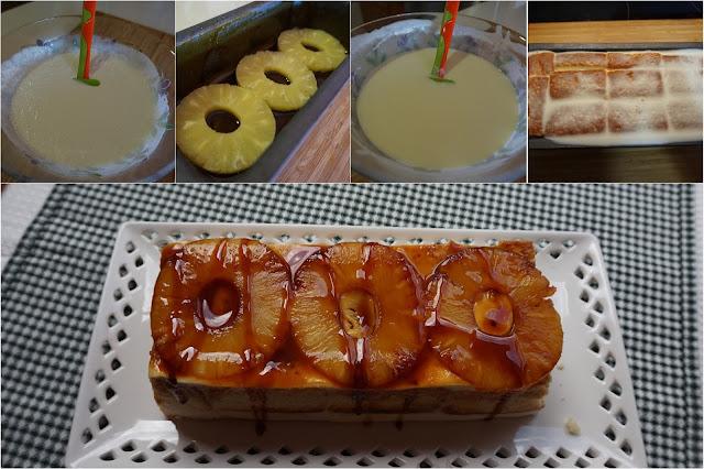 Pastel de piña, sin horno, fácil y cremoso.