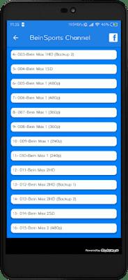 تحميل تطبيق Genius Stream النسخة الاخيرة لمشاهدة جميع قنوات العالم المشفرة مجانا على اجهزة الاندرويد