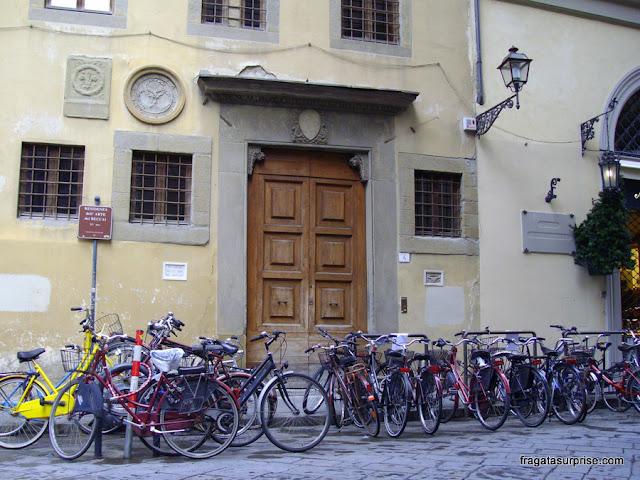 Aluguel de bicicletas em Florença