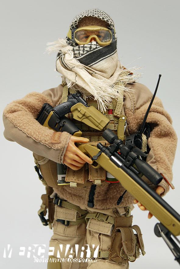 1//6th Scale Military Shemagh Arab Desert Keffiyeh Scarf Hot Toys GI Joe Dragon