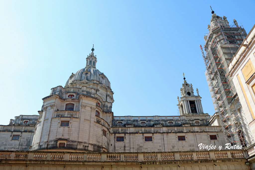 Detalle del Palacio de Mafra, Portugal