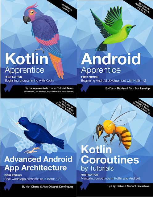 Android And Kotlin Bundle Books From Ray Wenderlich