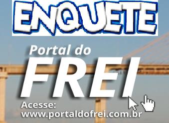 Fidélis Uchôa é o grande vencedor da enquete do Portal do Frei - Irmã Telma decepciona!!!