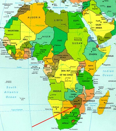 Zimbabve Nerede Bulunuyor