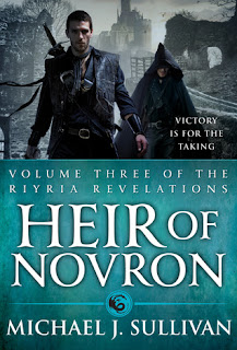 "The Heir Of Novron "" for me, I've learned that the last bite is often the sweetest."""