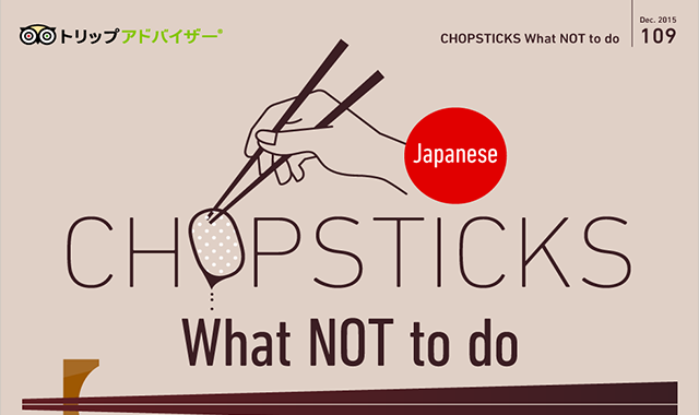 Chopsticks What Not To Do