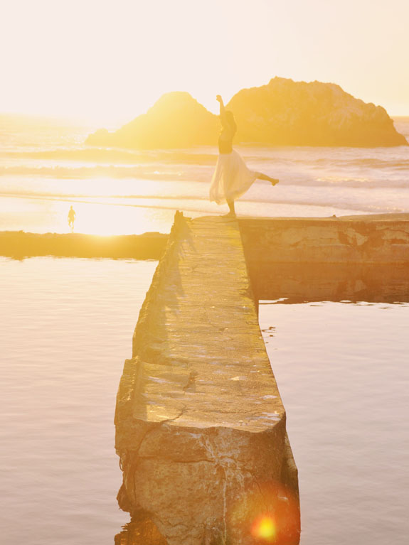 San Francisco Bucket List - check out the ruins of the Sutro Baths, and stay for the sunset