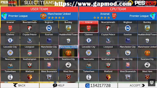 Download FTS 19 Mod PES 2019 for Android