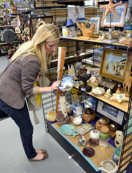 Shopping for trinkets at New Uses