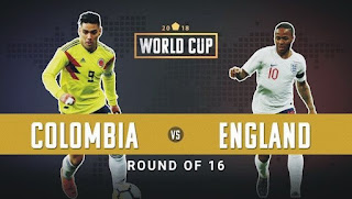England vs Colombia Live Streaming online Today 3.07.2018 World Cup Russia 2018
