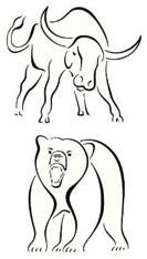 Bull and Bear of Stock Market