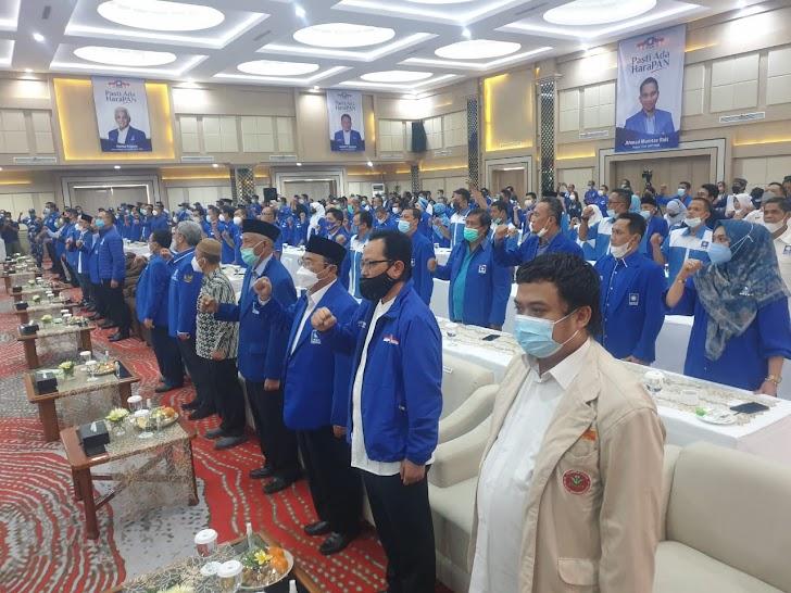 Zulkifli Hasan Lantik Langsung Pengurus DPW-DPD PAN DIY