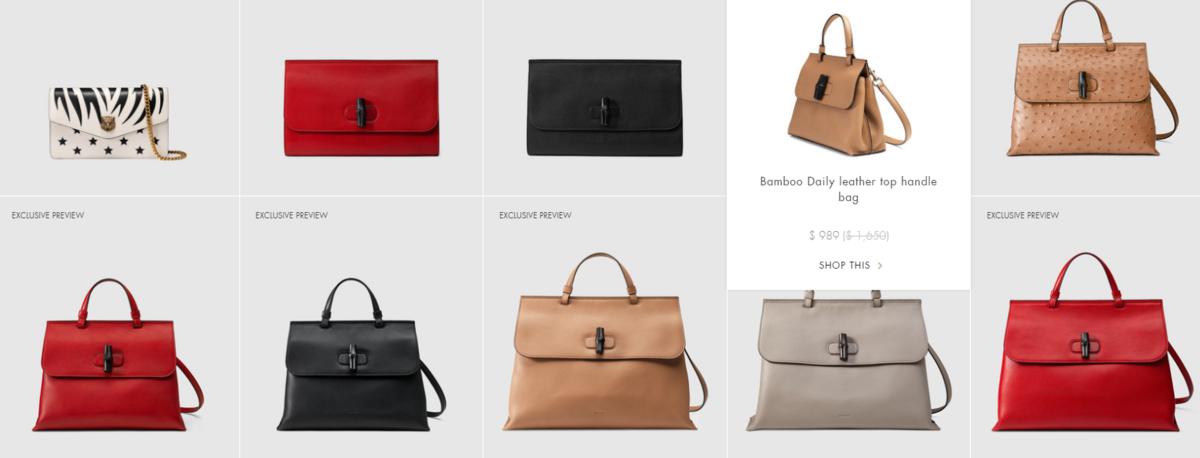 Gucci Private Sale >> Madison Avenue Spy Gucci Presale Continues Gucci Com