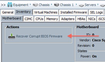 UCS Chalkboard: Waiting for BIOS POST completion from CIMC on server