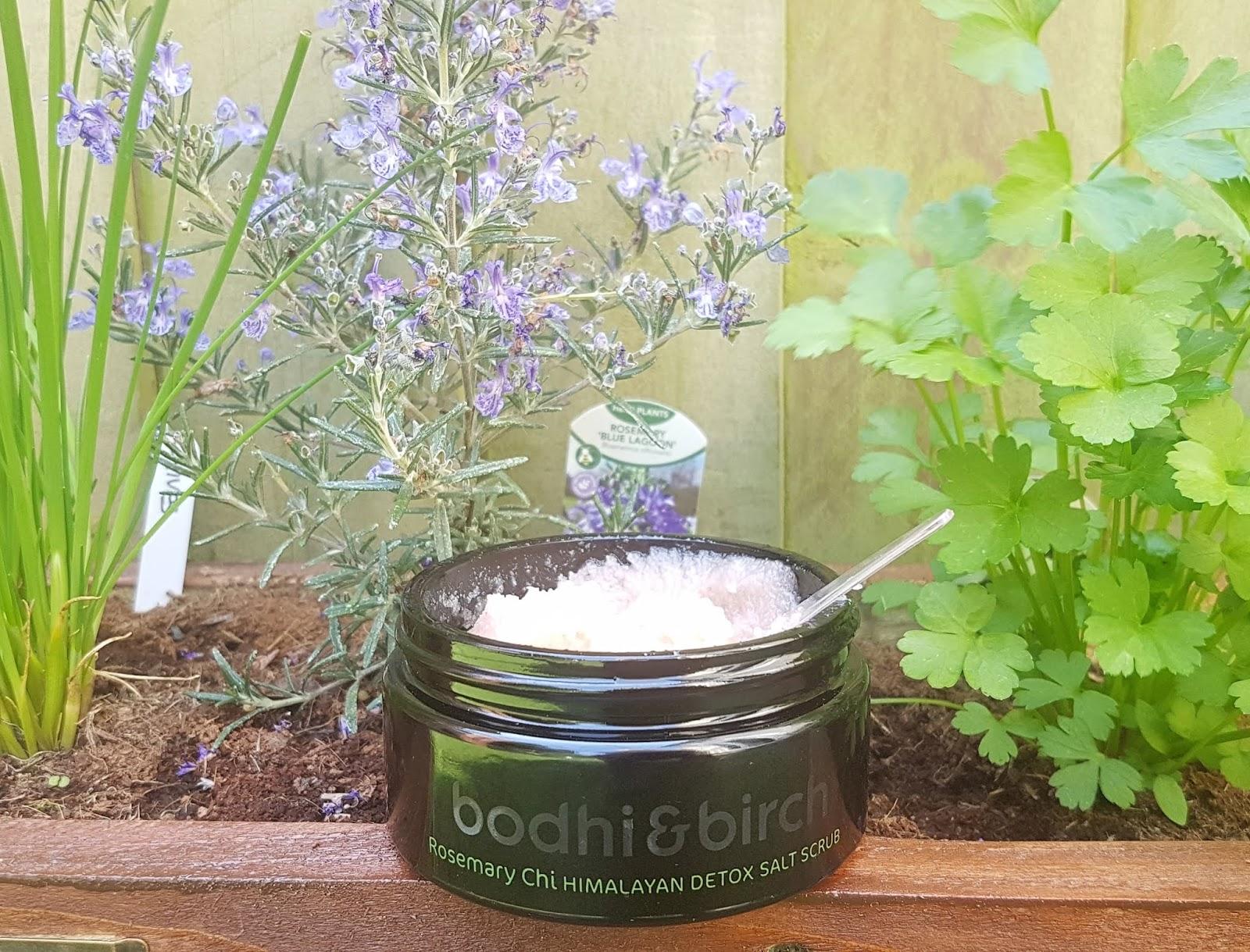 Bodhi & Birch Rosemary Chi Himalayan Detox Salt Scrub Review