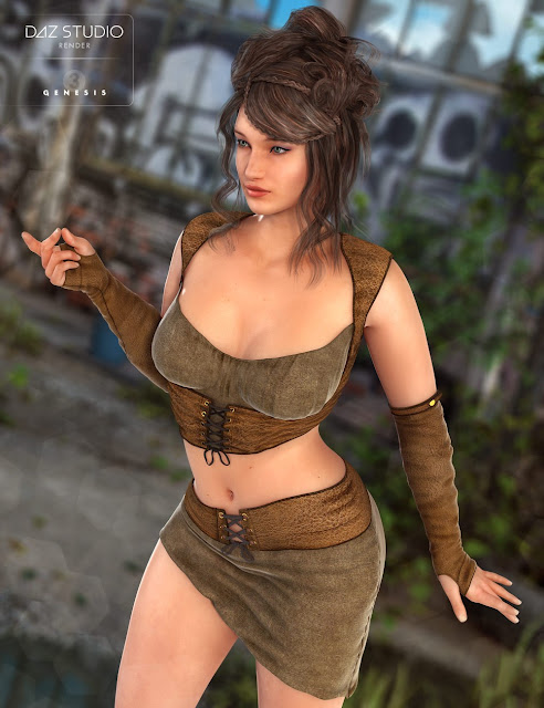 Badlands Maiden for Genesis 3 Female