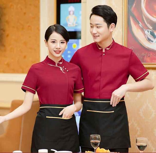 Đồng phục dành cho nhân viên phục vụ nhà hàng