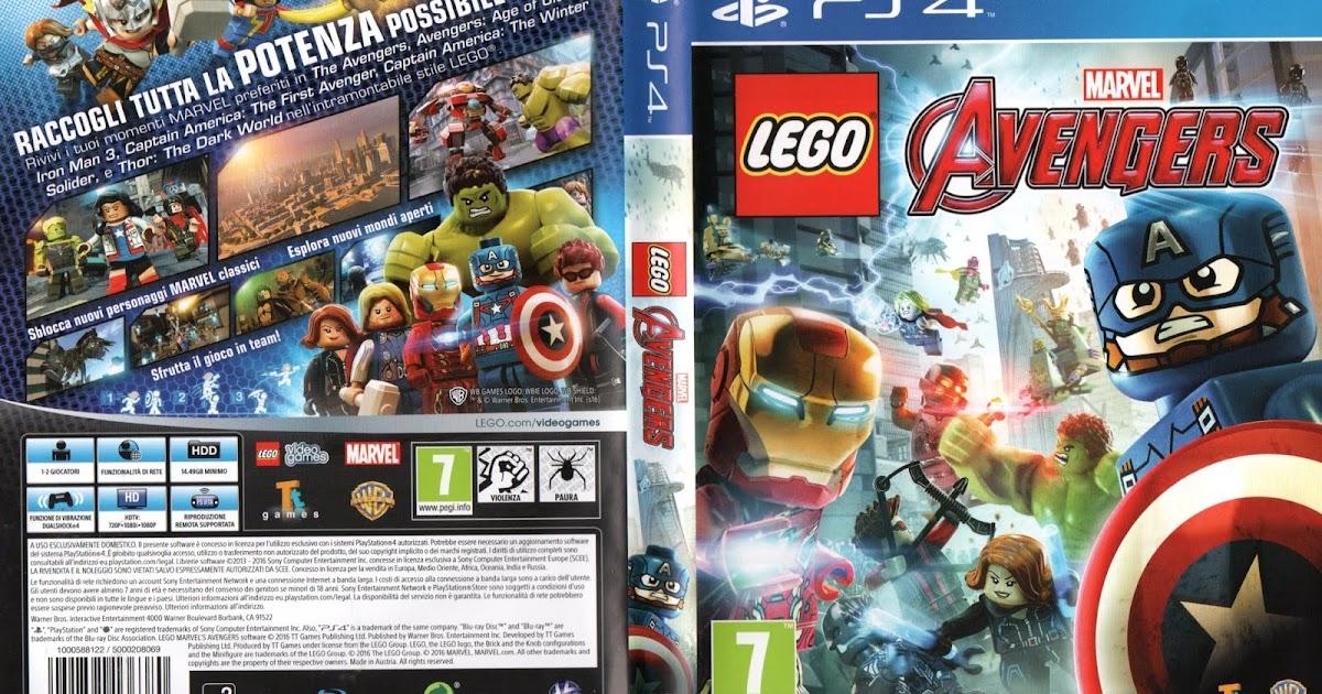 Spiele Gurke: Lego Marvel Avengers Italien Import