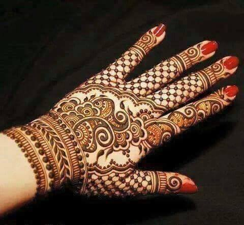 Mehandi Design for Hands 5