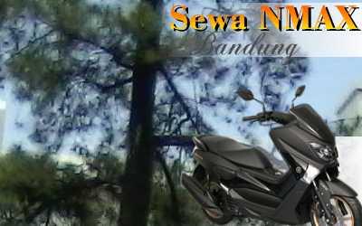 Rental sepeda motor N-Max Jl. Suka Asih Bandung