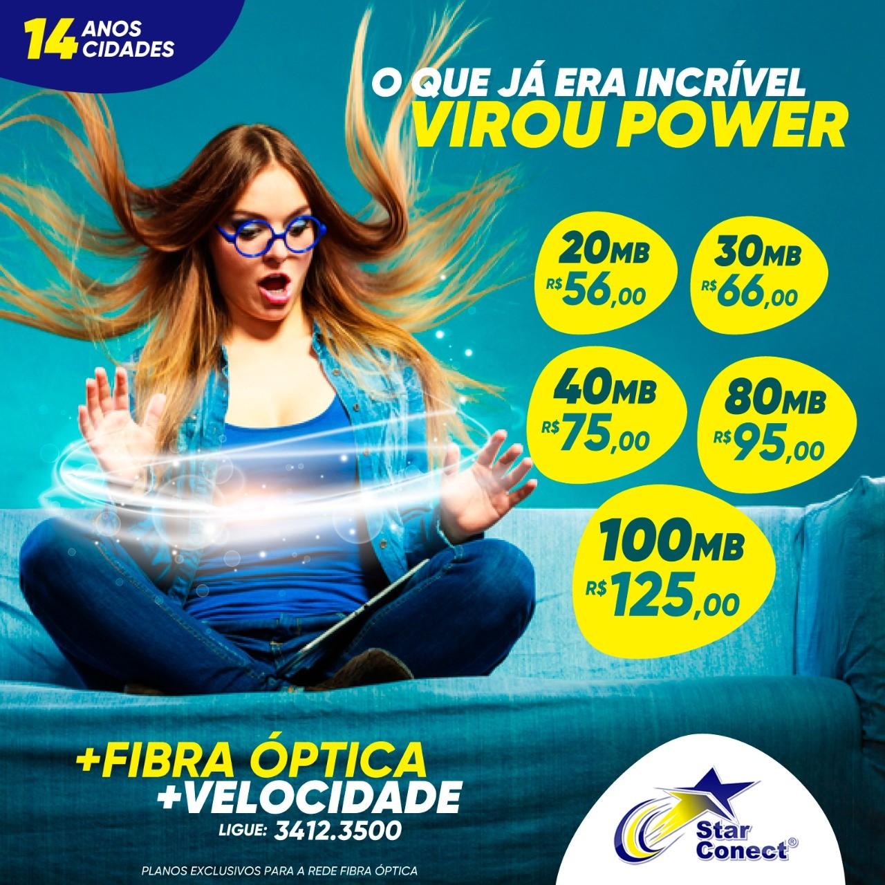 A internet na velocidade da luz com um preço que você nunca viu! Ligue  agora e venha para a rede de Fibra Óptica que mais cresce no Seridó! 353339c36e
