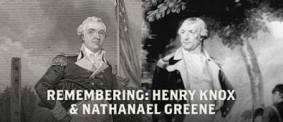 Kindred Spirits and Military Powerhouses: Henry Knox and Nathanael Greene
