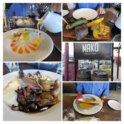 Patagonia 2 week itinerary: Dinner at Mako Restaurant in El Calafate Argentina