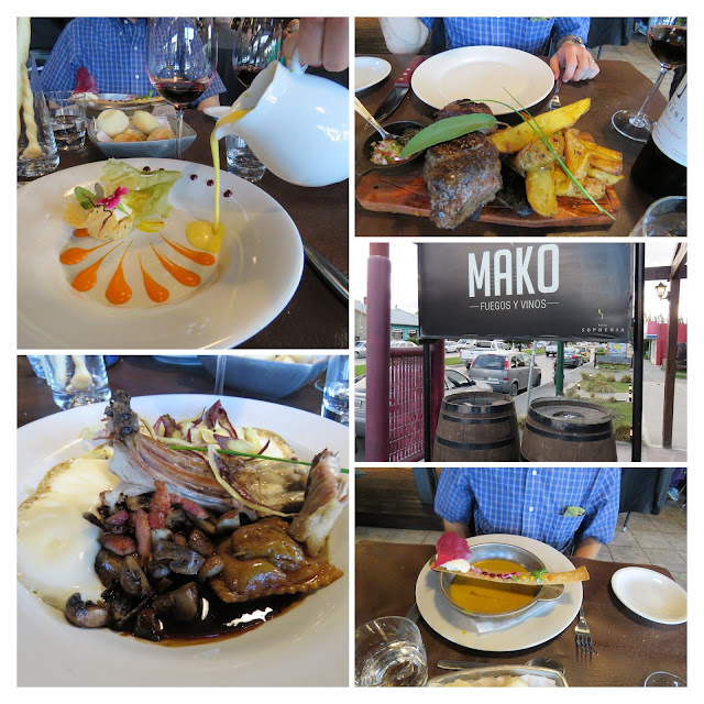 Dinner at Mako Restaurant in El Calafate Argentina