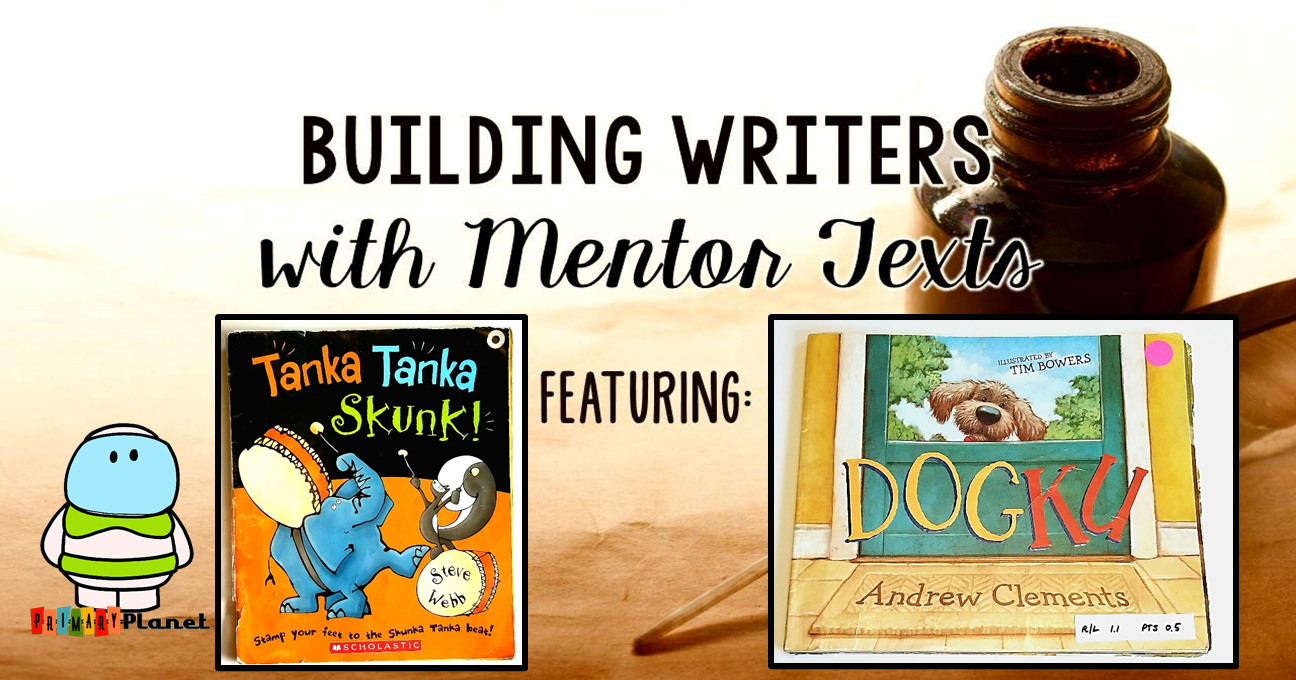 Mentor Text for Writing: Teaching Syllables and Haiku with a freebie!