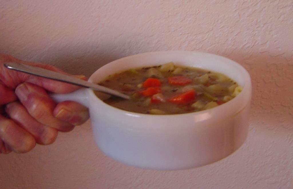 A Bowl of My Special Lentil Soup Image