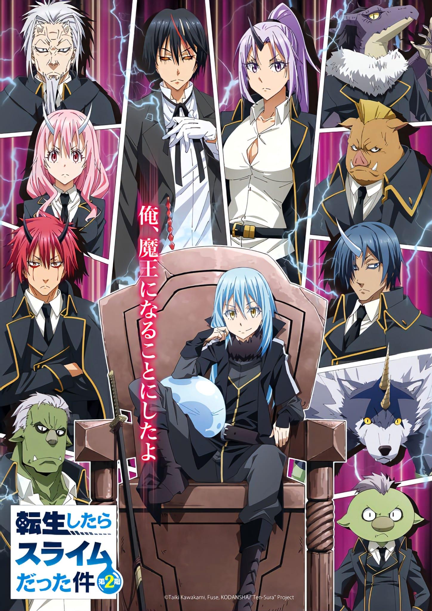 Tensei shitara Slime Datta Ken Season 2 Batch Subtitle Indonesia [x265]