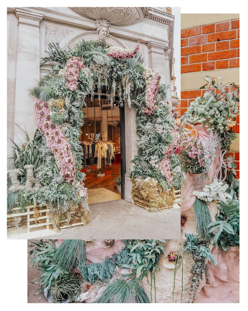 Chelsea in Bloom Rag & Bone 2019 Flower Display