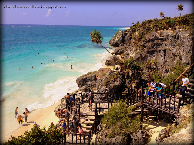 swimming in Tulum, Tulum ruins beach, things to do in Akumal