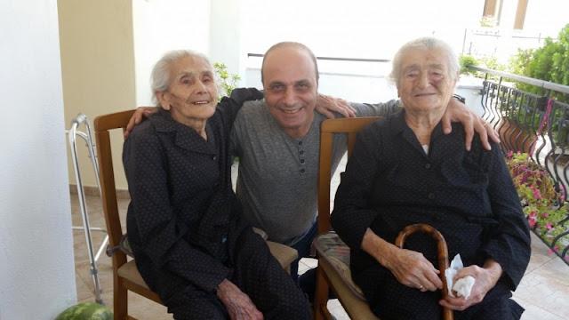 Μαρτυρίες Γενοκτονίας στις Σέρρες το 2016 από τις υπεραιωνόβιες πρόσφυγες πρώτης γενιάς, Όλγα Συμεωνίδου (103 ετών) και Σοφία Αδαμίδου (105 ετών)