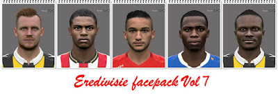 Eredivisie Facepack Vol7