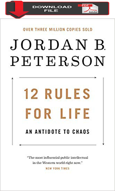 pdf download 12 Rules for Life An Antidote to Chaos jordan peterson book free