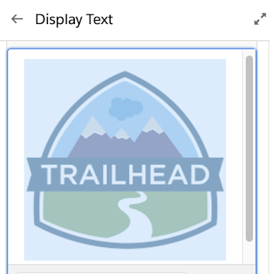Display Images in a Salesforce Flow