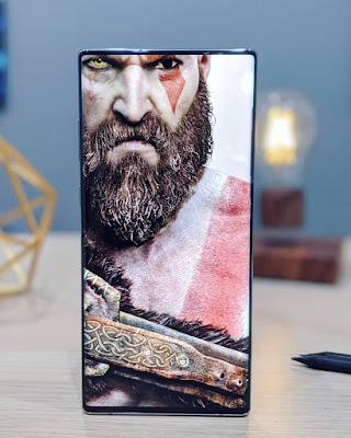 God of War Genius Wallpaper Galaxy Note 10+