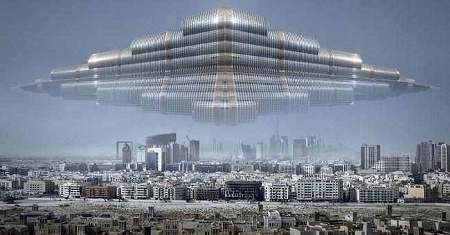 Στη Νότια Κορέα Παρατήρησαν ένα Τεράστιο UFO να Αιωρείται πάνω από την πόλη του Daegu (video)