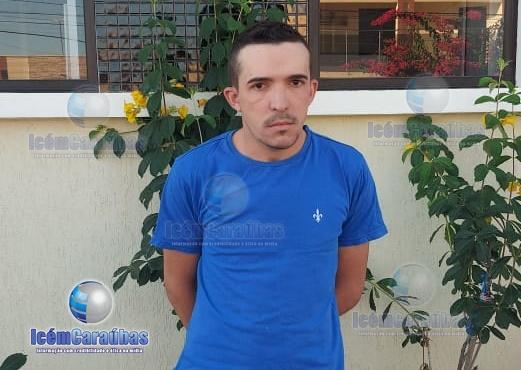Homem com mandado de prisão em aberto é preso pelo GTO na zona rural de Caraúbas