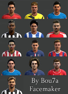 Most Big Facepack Pes 2013 By Bou7a