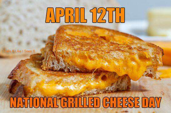 National Grilled Cheese Sandwich Day Wishes For Facebook